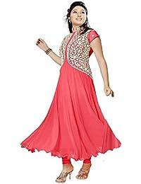 Muta Fashions Georgette Pink Women Kurti ( KURTI217_Pink )