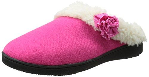 isotoner-brushed-jersey-sweater-knit-hoodback-donna-us-65-rosa
