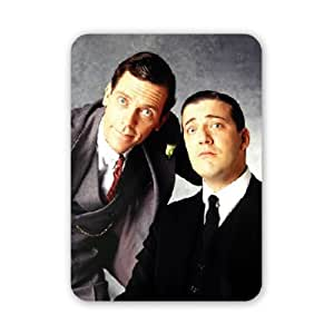Jeeves and Wooster - Stephen Fry and Hugh.. - Mouse Mat Art247 Highest Quality Natural Rubber Mouse Mats - Mouse Mat