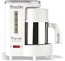 Preethi Drip Caf- CM-208 450-Watt Coffee Maker