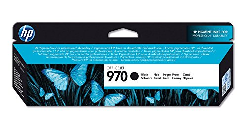 HP CN621AE – Cartucho de Tinta HP 970, Negro