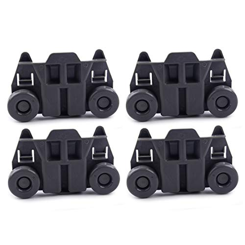 4 stücke Spülmaschine Rack Roller Fit Für Whirlpool Maytag KitchenAid Jenn-Air Amana W10195417 - Roller Maytag