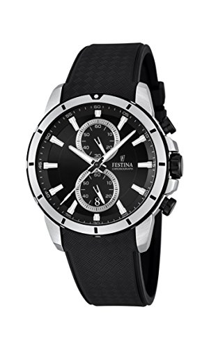Festina Herren-Armbanduhr Chronograph Quarz Plastik F16850/2