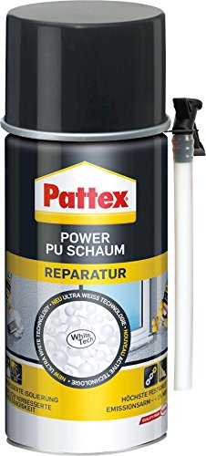 Pattex 1407215 Power réparation Mousse PU, Blanc