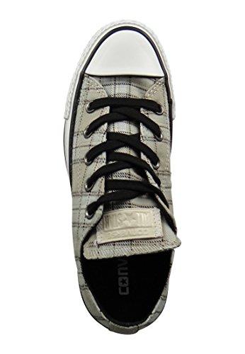 Converse Chucks 549656C CT AS Plaid Papyrus Black Vaporous Grey Grau Papyrus Black Vaporous Grey