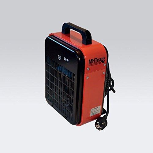 Generator-stahl-gehäuse (mhteam-eh1–03Heizung Elektroheizung 3000W IPX4, Rot)