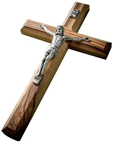 Earthwood - Olivenholz-Kruzifix