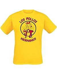 Breaking Bad - T-shirt Los Pollos Hermanos - Jaune