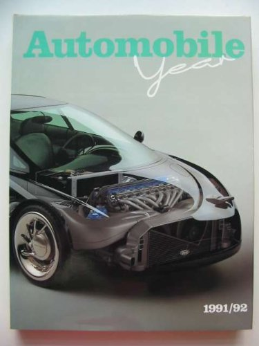 Automobile Year: 1991-92 No. 39 (AUTOMOBILE YEAR/L'ANNEE AUTOMOBILE/AUTO-JAHR)