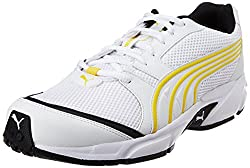 Puma Mens Neptune DP White-Black-Dandelion Running Shoes - 6 UK/India (39 EU)