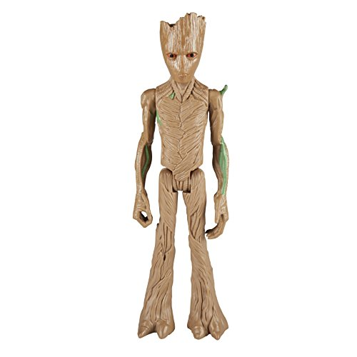 Marvel Infinity War Titan Hero Series - Groot with Titan Hero Power FX Port  (Multi Color)