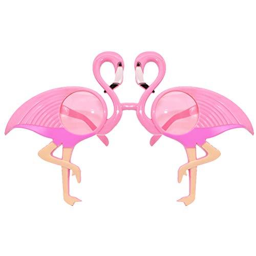 (BESTOYARD Flamingo Brillen Lustige Weihnachtsbrillen Christmas Party Dekoration Requisiten)