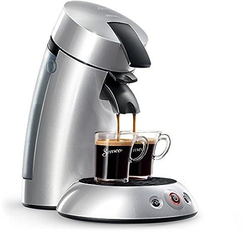 Senseo HD7818/52 Original Kaffeepadmaschine (1 - 2 Tassen gleichzeitig) silber