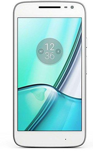 Lenovo  Moto G4 Play 4G, Schermo da 5 pollici, Dual SIM, Fotocamera da 8 MP, 2 GB di RAM, Memoria Interna di 16 GB, Bianco [Italia]