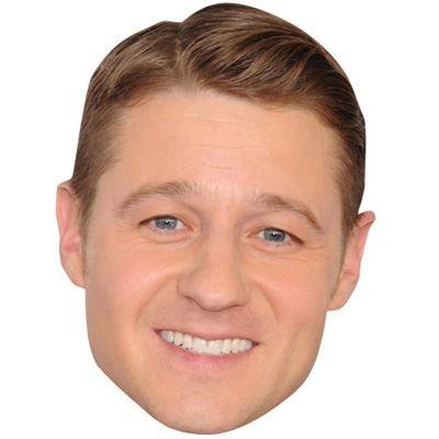 Celebrity Cutouts Ben McKenzie Maske aus Karton