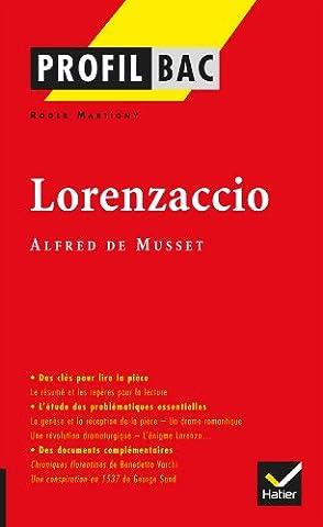 La France De Profil - Profil - Musset : Lorenzaccio: Analyse littéraire