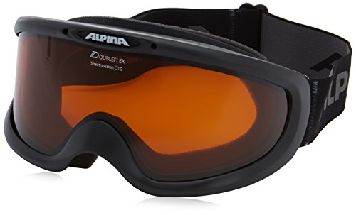 ALPINA Spectravision DH Skibrille, Black, One Size