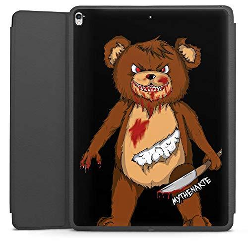 DeinDesign Smart Case schwarz kompatibel mit Apple iPad Pro 12.9 (2017) Hülle mit Ständer Schutzhülle Halloween Horror Mythenakte (Pro Film Horror Ohne Halloween)