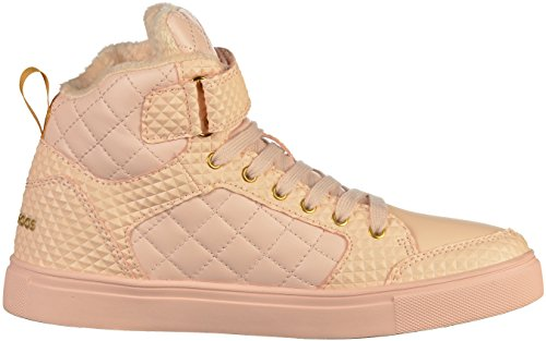 KangaROOS Damen Prisma Hohe Sneaker nude (39035-1001)