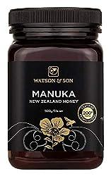 Watson & Son Manuka Honig MGO 200+ 500g | Zertifizierte Premium Qualität aus Neuseeland