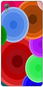 Snoogg Digi Bubbles 2387 Case Cover For Sony Xperia Z3