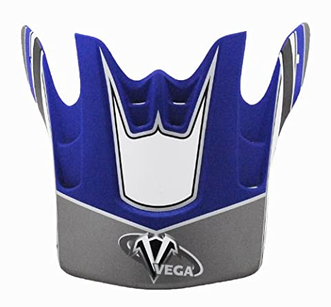 Vega Blue Base Graphic Replacement Visor for Mojave Off-Road Helmet