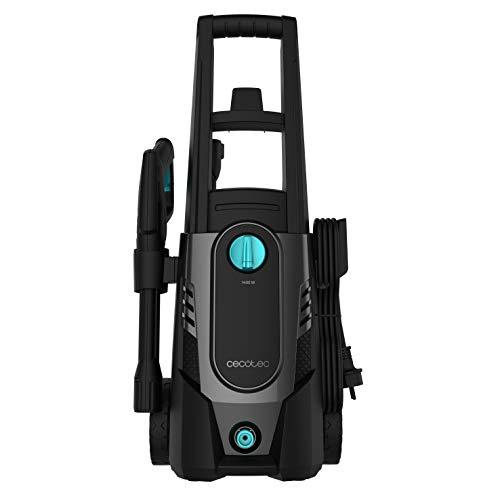 Cecotec HidroBoost 1600 Car&Bike Hidrolimpiadora compacta, potente y portátil, especial para coche y bici, Botella para jabón y cepillos especiales, 1600 W, Caudal 426 l/h, 135 bares