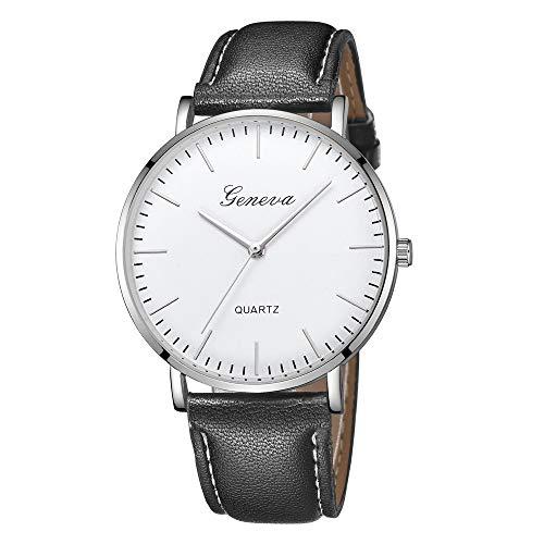 Jia Meng Geneva Fashion Einfache Uhr Damen Freizeit Analog Leder Quarz Armbanduhren Armbanduhr -