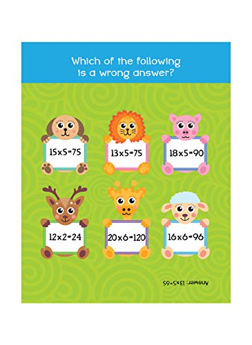 My First Padded Board Books of Times Table: Multiplication Tables From 1 - 20