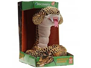 Peluche anime serpent cobra royal jaune 1 mètre giochi preziosi discovery channel - jay0186aa