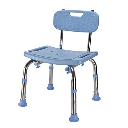 HHORD Duschstuhl/Badehocker/Faltbarer Duschbad Sicherheitsstuhl Für Behinderte Und Ältere Erwachsene,2
