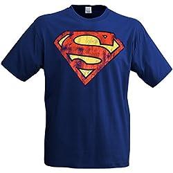Superman - Camiseta con símbolo de Superman (talla M)