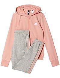 Adidas YG Hood Cot TS Trainingsanzug, Mädchen