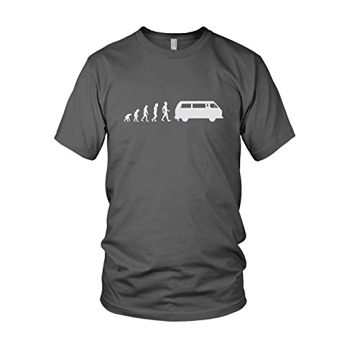 Bulli T3 Evolution - Herren T-Shirt, Größe: XL, Farbe: grau