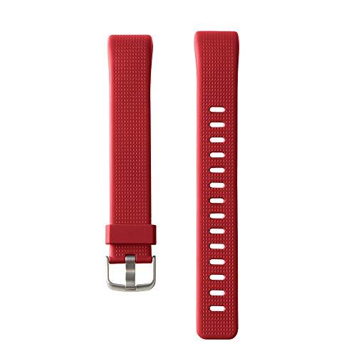 Willful Cinturino di Ricambio per Fitness Tracker SW352 (Rosso)