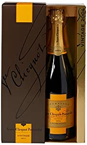 Veuve Clicquot Vintage Brut 2008 Champagne with Gift Box, 75 cl