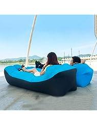 ZLmN La Mejor Tumbona Inflable Descanso para almorzar Sofá de Aire Tumbona de Aire Superior para