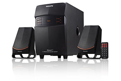 Philips MMS-2550F/94 2.1 Channel Multimedia Speakers System (Black)