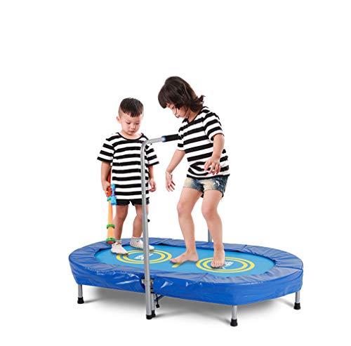 Homesave trampolino con piega regolabile in altezza con impugnatura a u da 58 pollici