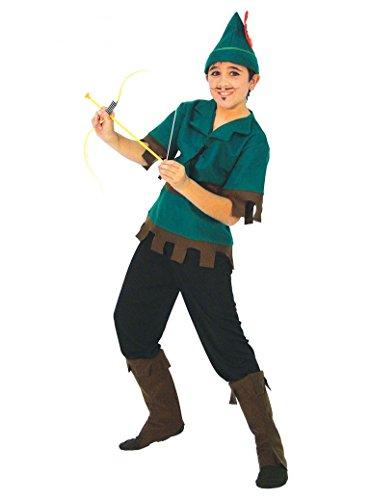 Bogenschütze - Kostüm für Kinder Gr. 110 - 146, Größe:140/146