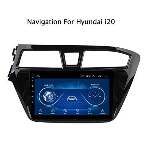 Auto Stereo GPS Navigator Head Unit für Hyundai i20 2015-2018 Autoradio Unterstützung Bluetooth/WiFi/DAB/USB/Lenkradsteuerung/Mirror Link/Carplay