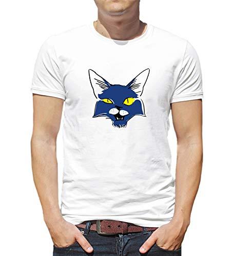 LumaShirts Halloween Black Magic Cat 007356 T Shirt Tshirt For Men Man S  Funny Gift Xmas XL White 4f16af3f4ba