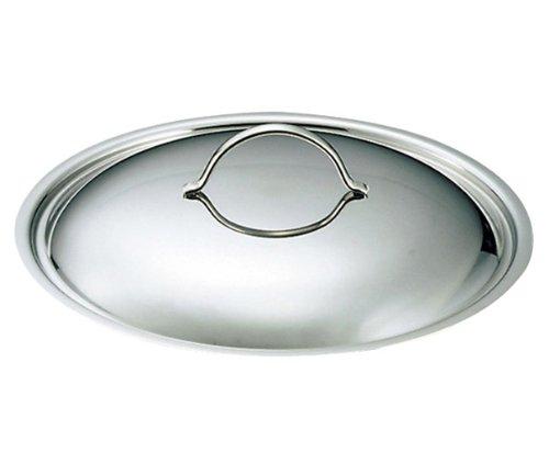 Edelstahl Ep-serie (Gewölbter Deckel, Edelstahl, Durchmesser: 36 cm-De Buyer)