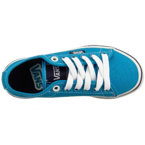Vans Z FERRIS LO PRO VJW1Y28, Baskets mode fille Bleu