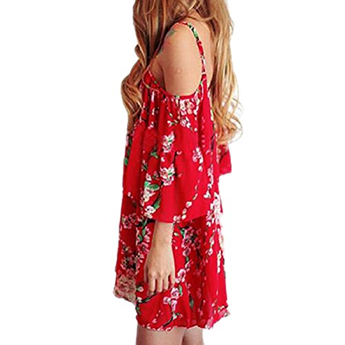 Eleery - Robe - Tunique - Femme Rouge Rouge 42 Rouge