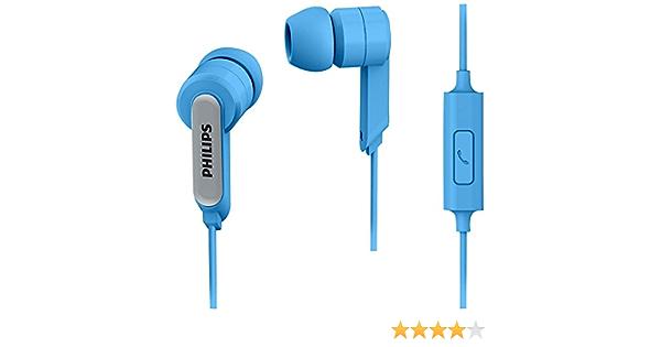 Philips She1405bl In Ear Headphone Headset With Mic Elektronik
