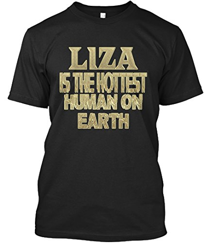 teespring Novelty Slogan T-Shirt - Liza Hottest/Liza Sensationnel
