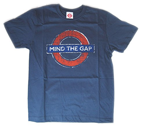 London Underground by Blues Jungen T-Shirt Gr. 5-6 Jahre, Navy