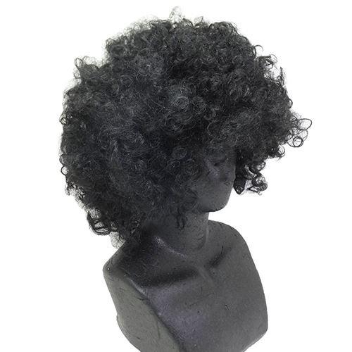 (Halloween fun wig/funky Afro black)