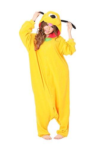 Kostüm Pluto Disney (Disney Pyjama Kigurumi -)